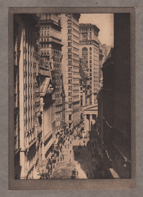 , 'The Stock Exchange,' Neg. date: 1909 c. / Print date:1909, Alan Klotz Gallery