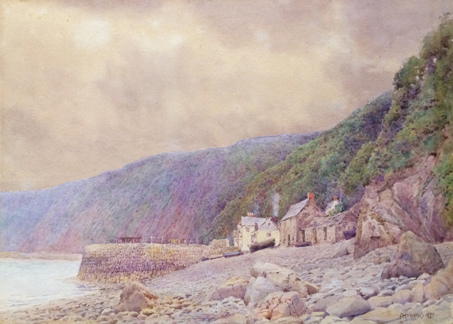 , 'The Quay, Clovelly,' 1897, Avery Galleries