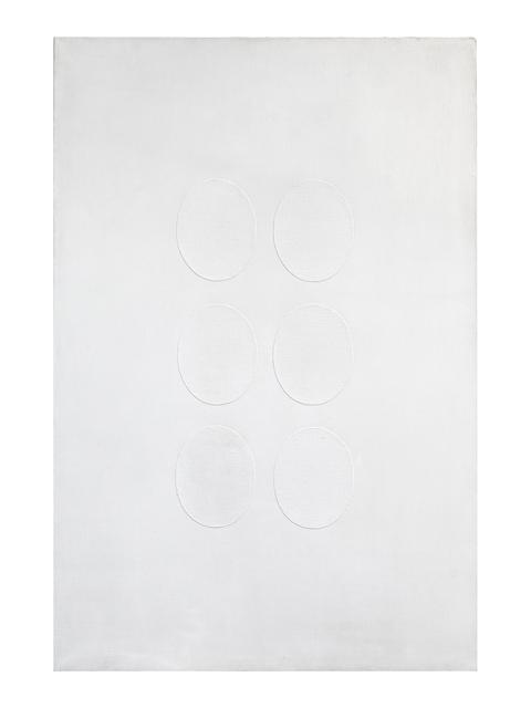 , '6 ovali bianchi,' 1965, Dep Art