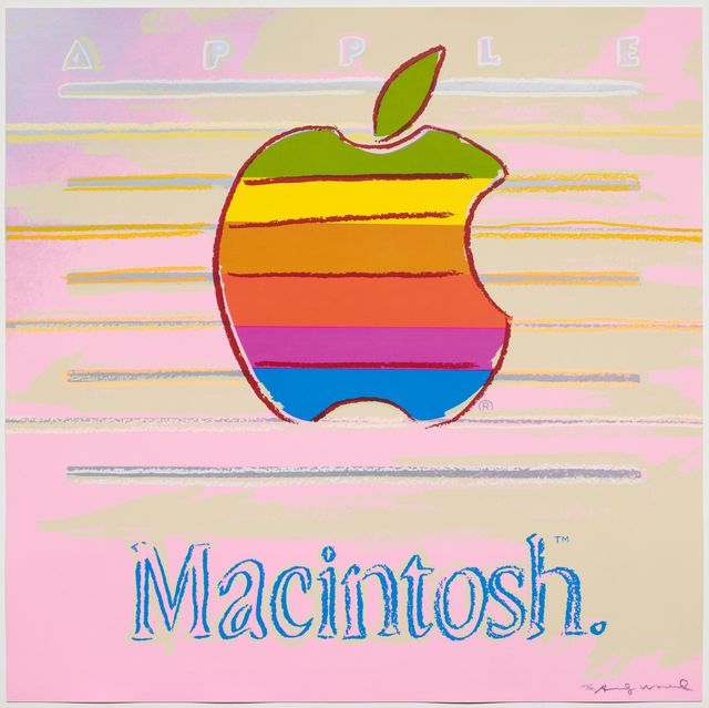 Andy Warhol, 'Apple', 1985, Koller Auctions