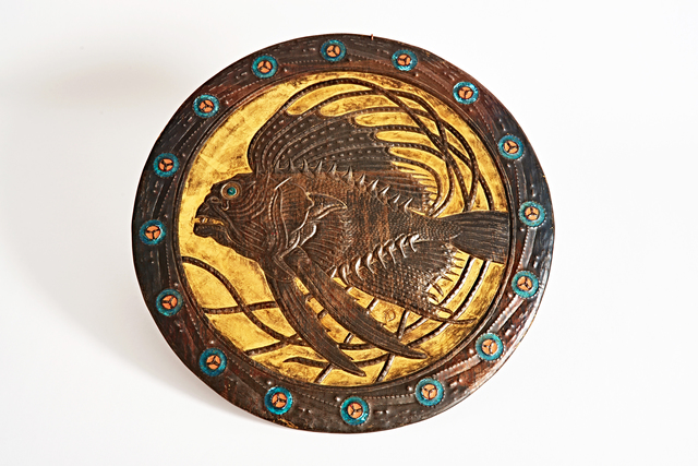 , 'Fish Fossil,' ca. 1900, Jason Jacques Gallery