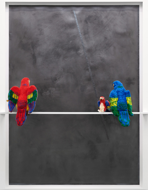 , 'o.T. (Lora surface facing-light-blue),' 2018, Ruttkowski;68