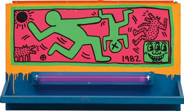 Keith Haring, 'Untitled', 1982, Phillips