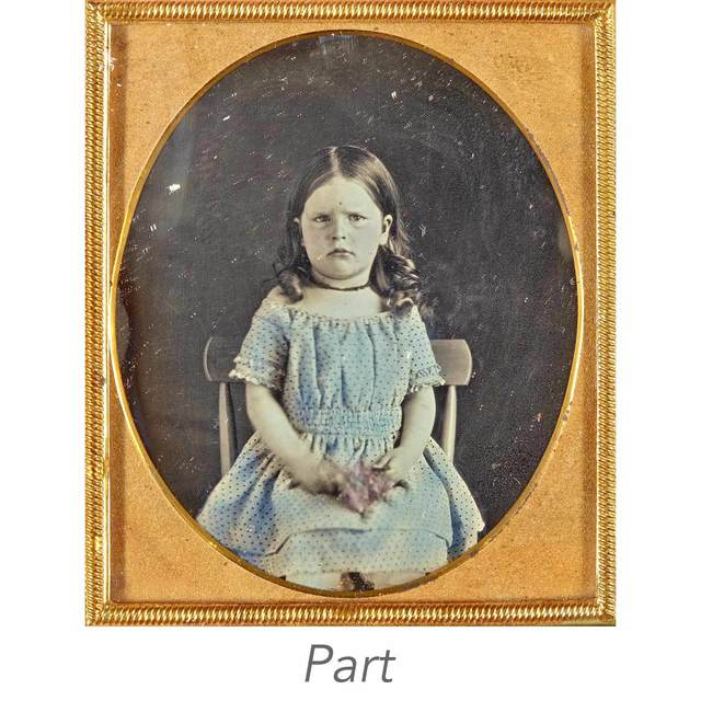 'Five images of young children.', 1850's-1860's, Doyle