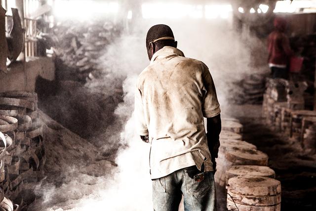 , 'Juste travailler /city mine,' 2015, Felix Frachon