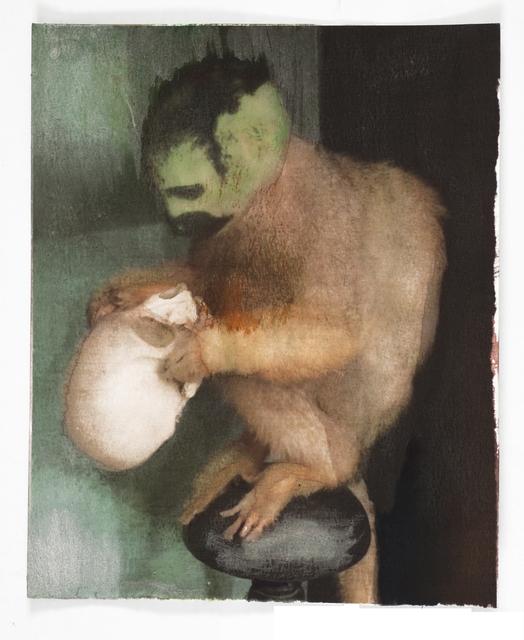 , 'Monkey With Skull,' 2014, Zemack Contemporary Art