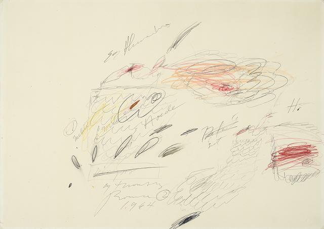 , 'Untitled,' 1964, Galleria Tega