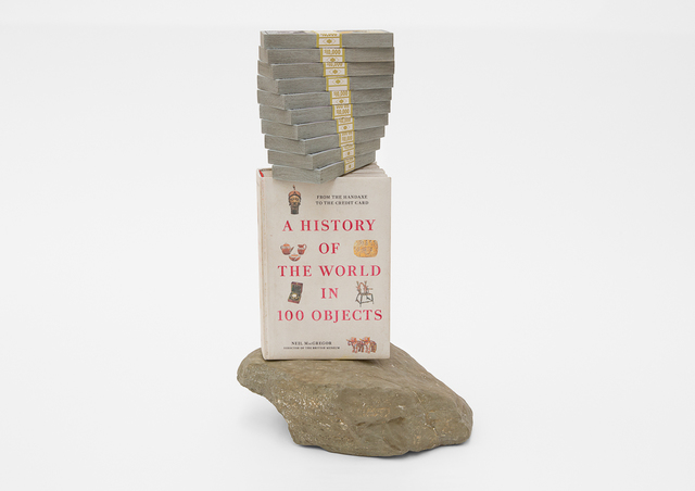 , 'A History of the World in 100 Objects, 100 Grand, and a Rock,' 2020, Blum & Poe