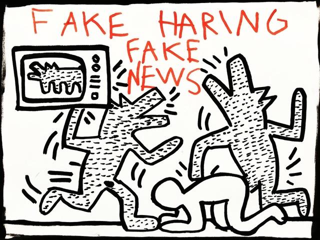 , 'Fake News,' 2017, Imitate Modern