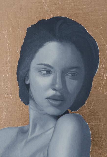 Patrick Le Borgne, 'Portrait de Jeune Femme', 2018, Galerie Libre Est L'Art