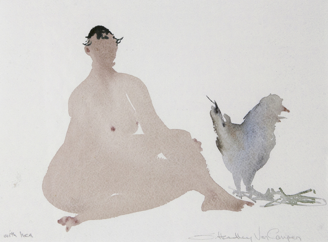, 'With Hen,' , Dowling Walsh