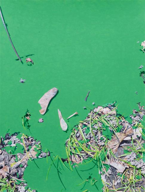 , 'Green,' 2017, Voloshyn Gallery