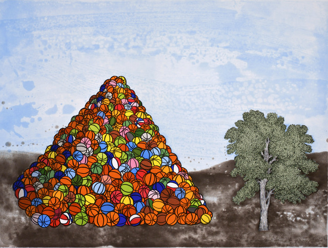 , 'Basketball Pyramid,' 2007, New Gallery of Modern Art