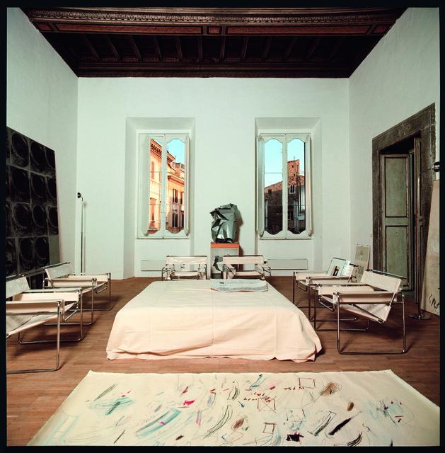 , 'Studio di Cy Twombly, Roma,' 1969-1970, Lia Rumma