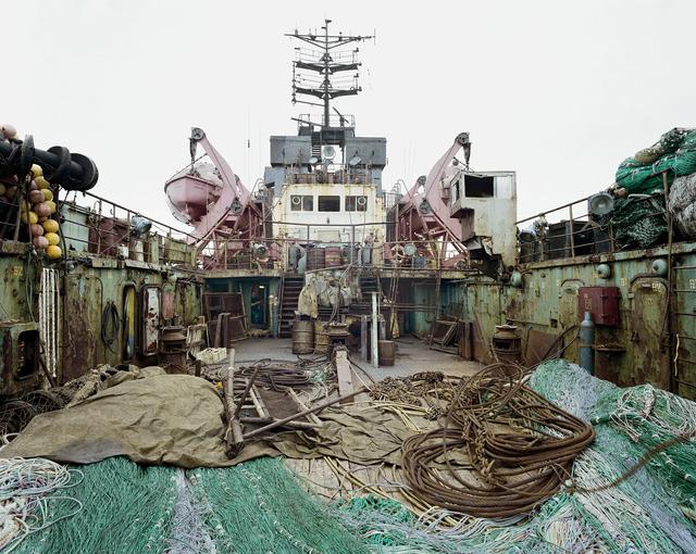 , 'Russian Fishing Trawler,' 2002, Huxley-Parlour