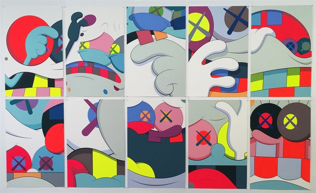 KAWS, 'Blame Game (complete set)', 2014, Print, Screen print on Saunders Waterford 410gm High White paper, Carmichael Gallery
