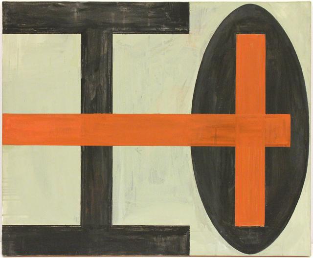 , 'Blume des Todes III (Rotes Kreuz),' 1983-1989, Peter Blum Gallery