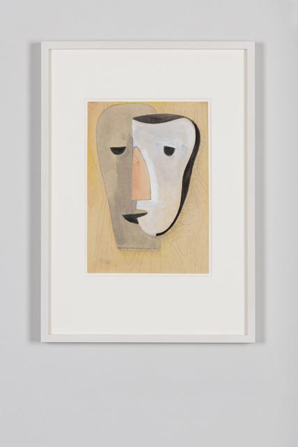 , 'Ohne Titel (Maske),' 1936, von Bartha
