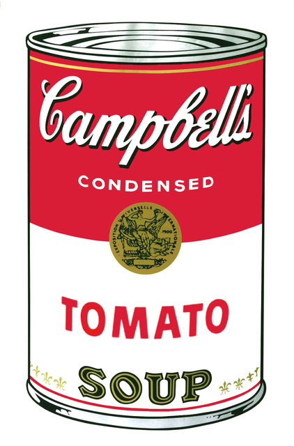 Andy Warhol, 'Campbell's Soup: Tomato (FS. 46) ', 1968, Print, Screenprint on Paper, Revolver Gallery