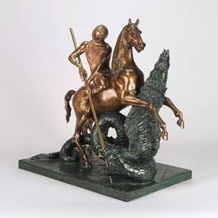 , 'St. George and the Dragon,' 1977, Robin Rile Fine Art