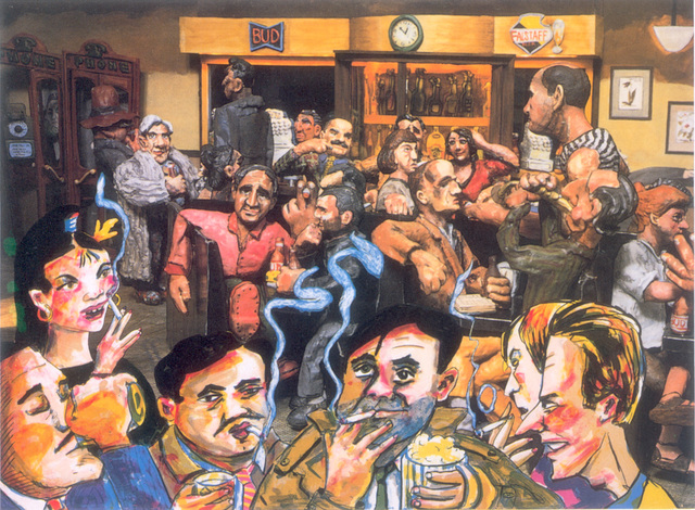 , 'The Cedar Bar,' 1987, Marlborough Gallery