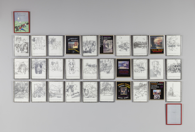 , 'Colouring In,' 1992, Goodman Gallery