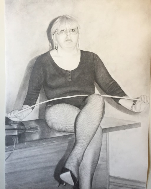 , 'Mona,' 2019, MULHERIN