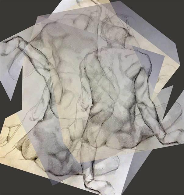 , 'Transcending Planar Space 1,' 2018, Agora Gallery