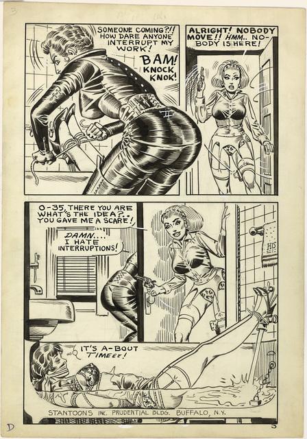 , 'On a Kinky Hook, Page 3, 1966,' 1966, TASCHEN
