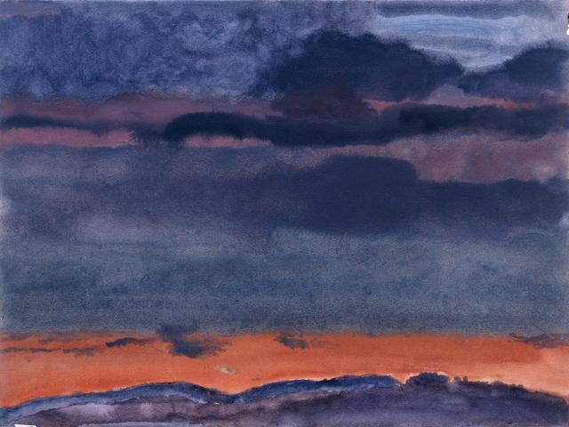, 'Rain Sky: Pink Dawn,' 2005, New York Studio School