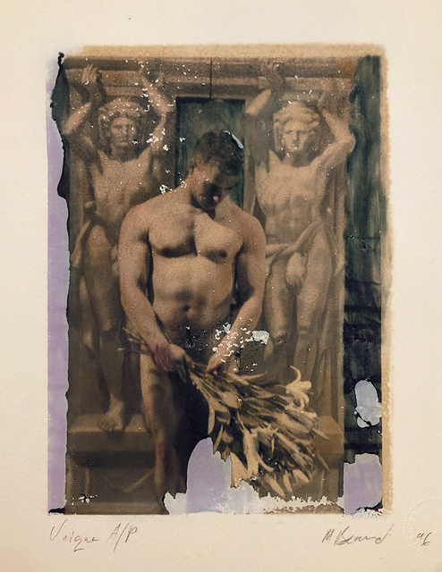 Mark Beard, 'Untitled (Man with Bouquet of Lilies)', 1996, ClampArt