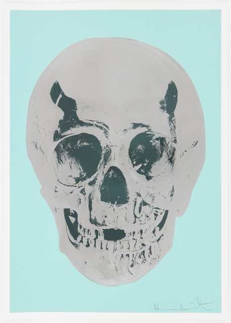 , 'Heavenly Peppermint Green Silver Gloss Racing Green Skull,' 2012, Paul Stolper Gallery