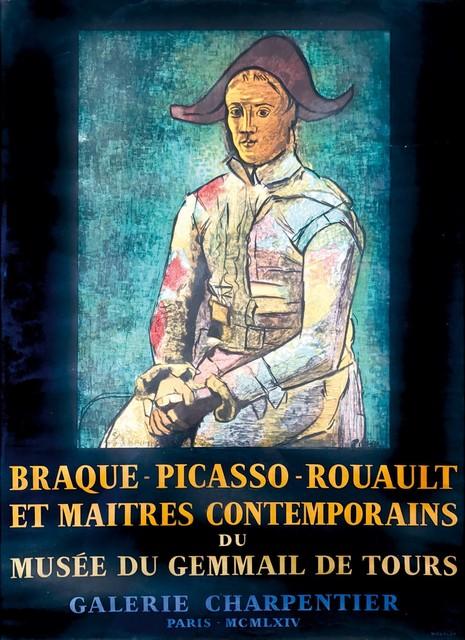Pablo Picasso, 'BRAQUE – PICASSO – ROUAULT ET MAITRES CONTEMPORAINES DU MUSÉE DU GEMMAIL DE TOURS', 1954, Cambi
