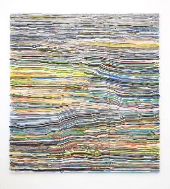 , 'Stripe Nonuplet #2,' 2015, UNIX Gallery