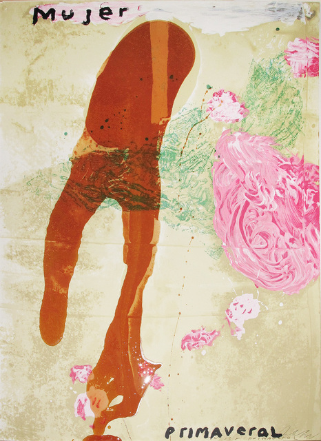 Julian Schnabel, 'Sexual Spring-Like Winter Series, Mujer Primaveral', 1995, Hamilton-Selway: Blue-Chip Editions