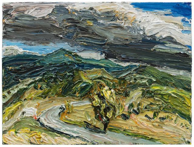 , 'Landschaft bei Mzcheta,' 2017, Galerie Kornfeld