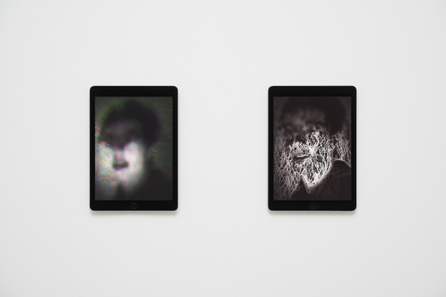 , 'Portraits, Shown on Two Apple iPad Air 2s,' 2014, West Den Haag