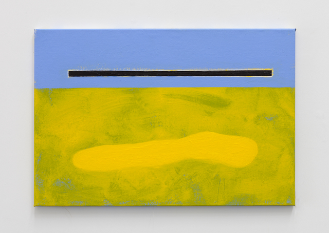 , 'Boulders, Borders & Bodies (Yellow),' 2017, Tatjana Pieters