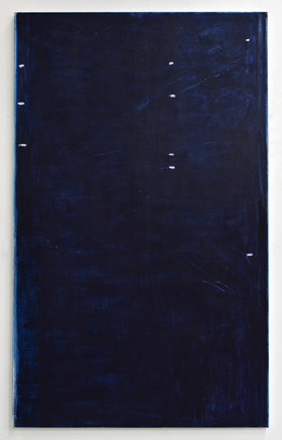 , 'The night shed its blue tears,' 2013, Peter Blum Gallery