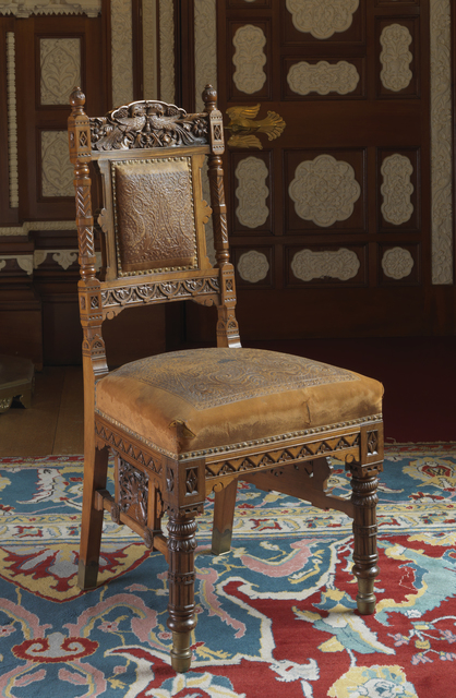 , 'Chair for the Durbar Hall, Osborne,' ca. 1892, Bard Graduate Center Gallery