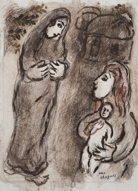 Marc Chagall, 'Agar Chassée', Executed 1958-59, Stern Pissarro