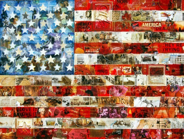, 'Old Glory,' 2010, Zenith Gallery