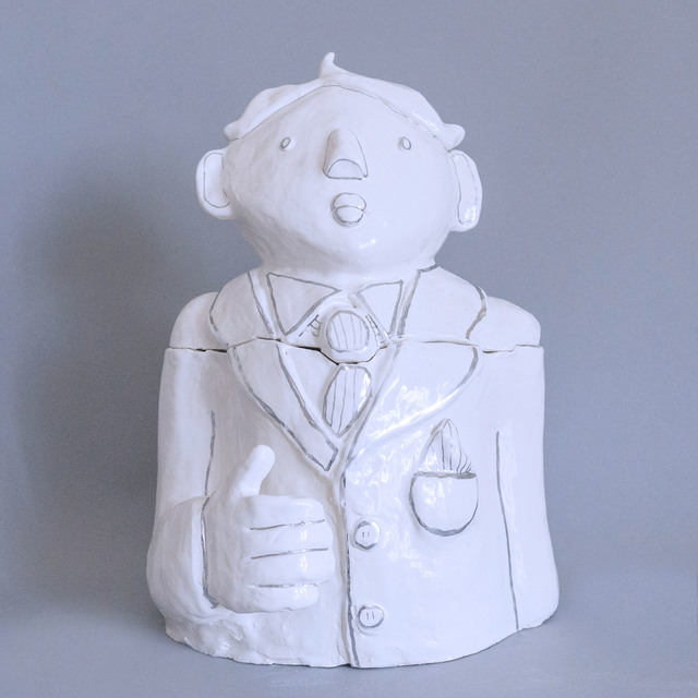 , 'The Businessman Cookie Jar ,' 2017, Gallery Madison Park
