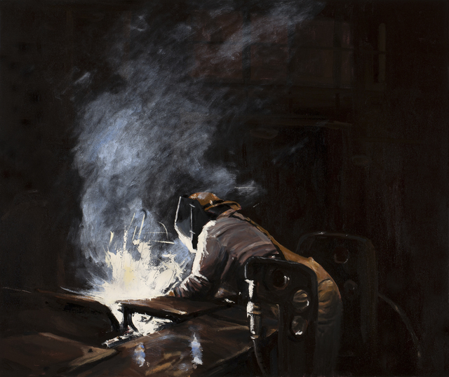 Michael Brophy, 'The Welders of Burning Alley IV', 2019, Russo Lee Gallery