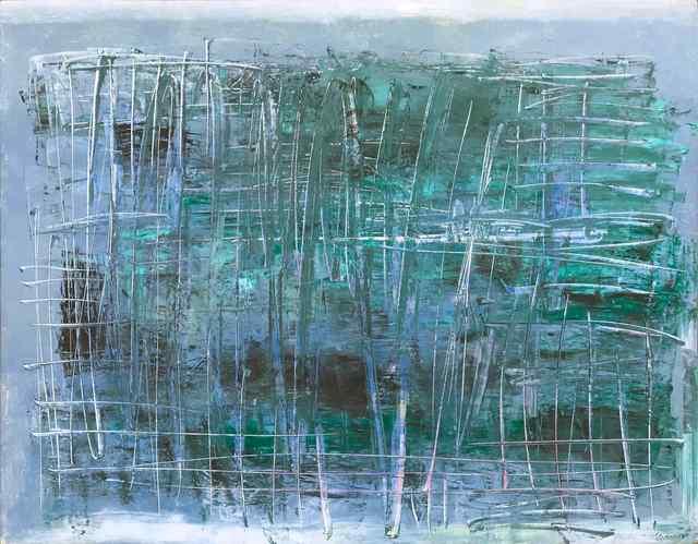 , 'Green,' 2018, Vanda Art Gallery