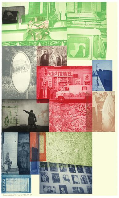 Robert Rauschenberg, 'Soviet/American Array VI', 1988-90, Print, Intaglio, Universal Limited Art Editions