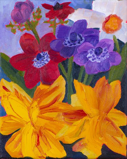 , 'Garden Flowers Study,' 2017, Hashimoto Contemporary