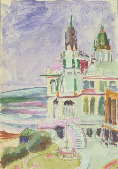 , 'Ostende, Casino,' 1917, Henze & Ketterer