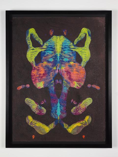 , 'Untitled (Glitter Mask),' 2013, P.P.O.W