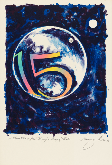 James Rosenquist, '15 Years Magnified Through a Drop of Water', 1973, Susan Sheehan Gallery